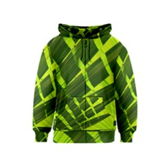 Frond Leaves Tropical Nature Plant Kids  Zipper Hoodie
