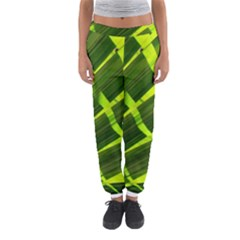 Frond Leaves Tropical Nature Plant Women s Jogger Sweatpants