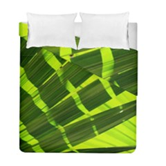 Frond Leaves Tropical Nature Plant Duvet Cover Double Side (full/ Double Size)