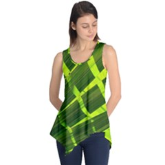 Frond Leaves Tropical Nature Plant Sleeveless Tunic