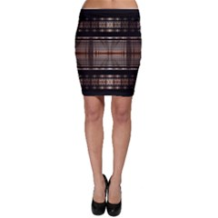 Fractal Art Design Geometry Bodycon Skirt