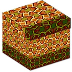 Geometry Shape Retro Trendy Symbol Storage Stool 12