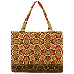 Geometry Shape Retro Trendy Symbol Mini Tote Bag