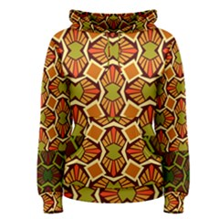Geometry Shape Retro Trendy Symbol Women s Pullover Hoodie