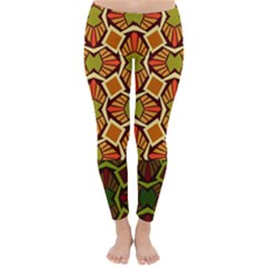 Geometry Shape Retro Trendy Symbol Classic Winter Leggings