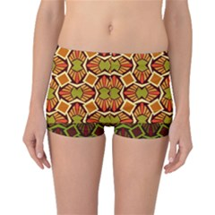 Geometry Shape Retro Trendy Symbol Boyleg Bikini Bottoms