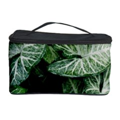 Green Leaves Nature Pattern Plant Cosmetic Storage Case