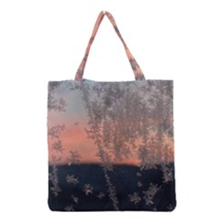 Hardest Frost Winter Cold Frozen Grocery Tote Bag