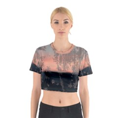 Hardest Frost Winter Cold Frozen Cotton Crop Top