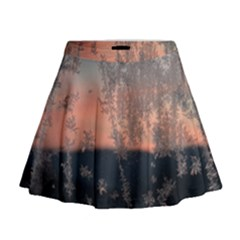 Hardest Frost Winter Cold Frozen Mini Flare Skirt