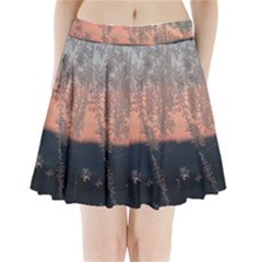 Hardest Frost Winter Cold Frozen Pleated Mini Skirt
