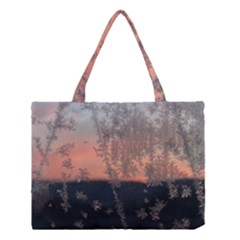 Hardest Frost Winter Cold Frozen Medium Tote Bag