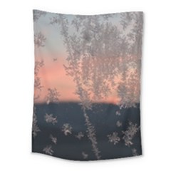 Hardest Frost Winter Cold Frozen Medium Tapestry