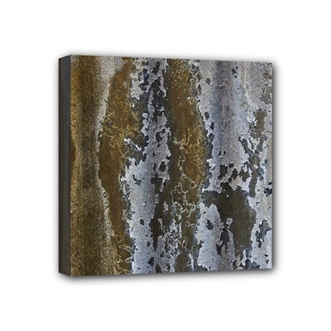 Grunge Rust Old Wall Metal Texture Mini Canvas 4  X 4
