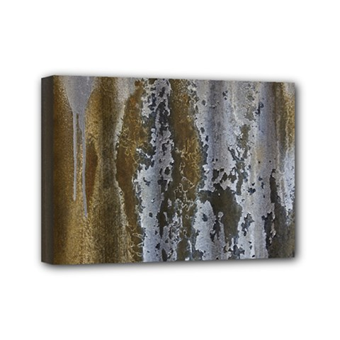 Grunge Rust Old Wall Metal Texture Mini Canvas 7  x 5