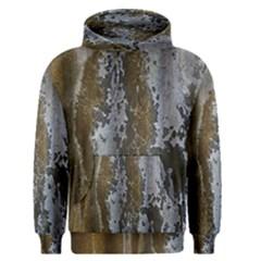 Grunge Rust Old Wall Metal Texture Men s Pullover Hoodie