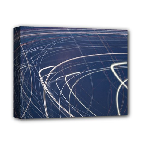 Light Movement Pattern Abstract Deluxe Canvas 14  X 11