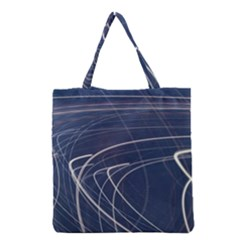 Light Movement Pattern Abstract Grocery Tote Bag