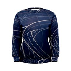 Light Movement Pattern Abstract Women s Sweatshirt