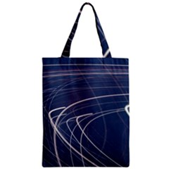 Light Movement Pattern Abstract Zipper Classic Tote Bag