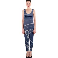 Light Movement Pattern Abstract OnePiece Catsuit