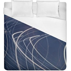 Light Movement Pattern Abstract Duvet Cover (king Size)