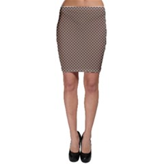 Pattern Background Diamonds Plaid Bodycon Skirt