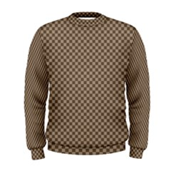 Pattern Background Diamonds Plaid Men s Sweatshirt