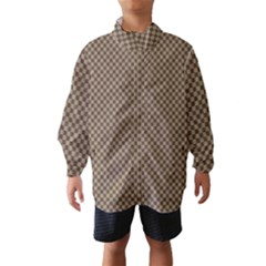 Pattern Background Diamonds Plaid Wind Breaker (kids)