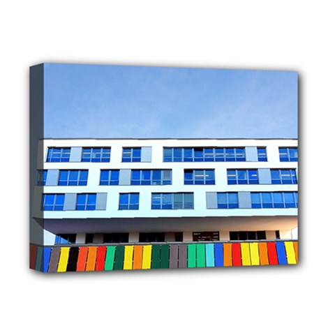 Office Building Deluxe Canvas 16  X 12