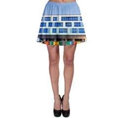 Office Building Skater Skirt