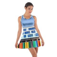 Office Building Cotton Racerback Dress