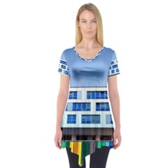 Office Building Short Sleeve Tunic