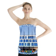 Office Building Strapless Top