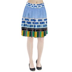 Office Building Pleated Skirt