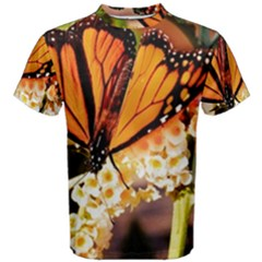 Monarch Butterfly Nature Orange Men s Cotton Tee