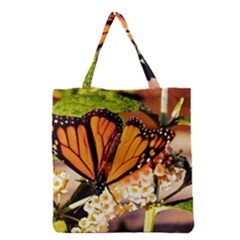 Monarch Butterfly Nature Orange Grocery Tote Bag