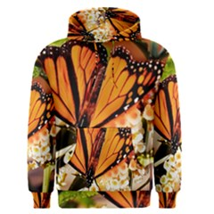 Monarch Butterfly Nature Orange Men s Pullover Hoodie