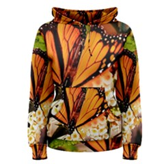 Monarch Butterfly Nature Orange Women s Pullover Hoodie