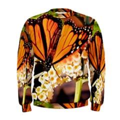 Monarch Butterfly Nature Orange Men s Sweatshirt