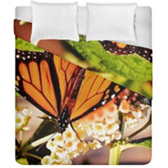 Monarch Butterfly Nature Orange Duvet Cover Double Side (california King Size)