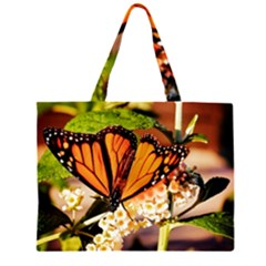 Monarch Butterfly Nature Orange Large Tote Bag