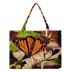 Monarch Butterfly Nature Orange Medium Tote Bag