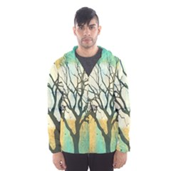 A Glowing Night Hooded Wind Breaker (men)