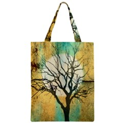 A Glowing Night Zipper Classic Tote Bag