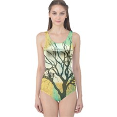 A Glowing Night One Piece Swimsuit
