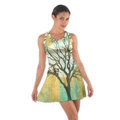 A Glowing Night Cotton Racerback Dress