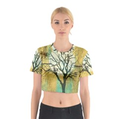 A Glowing Night Cotton Crop Top