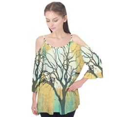 A Glowing Night Flutter Tees