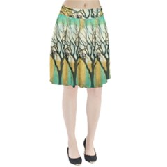 A Glowing Night Pleated Skirt